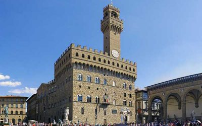 El Palazzo Vecchio en Florencia