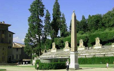 El Palacio Pitti y los jardines de Bóboli