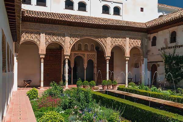 El Generalife y sus jardines en la Alhambra