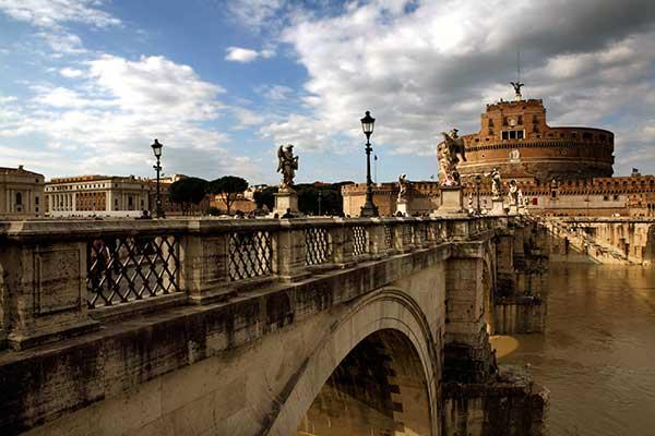 El Castel Sant'Angelo en Roma