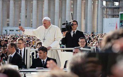 Audiencia con el Papa en el Vaticano