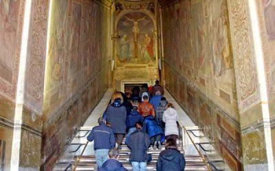 Scala Santa, la escalera por la que ascendió Jesús