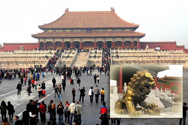 Ciudad Prohibida de Pekín en China