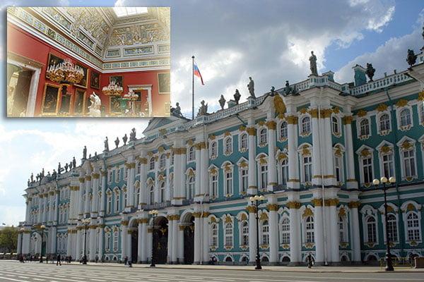 ☆ Visitar el Museo del Hermitage de San Petersburgo en Rusia