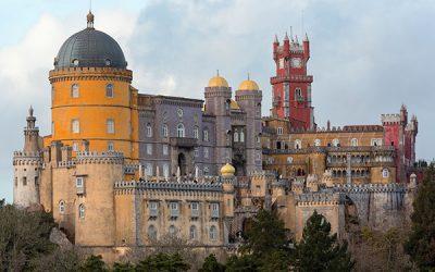 Visitar el Palacio da Pena de Sintra en Portugal