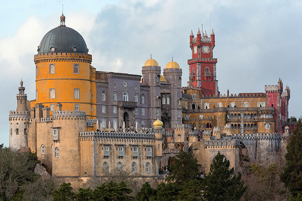 Palacio da Pena en Sintra Portugal