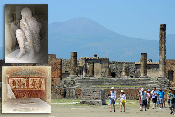 Visitar Pompeya en Italia