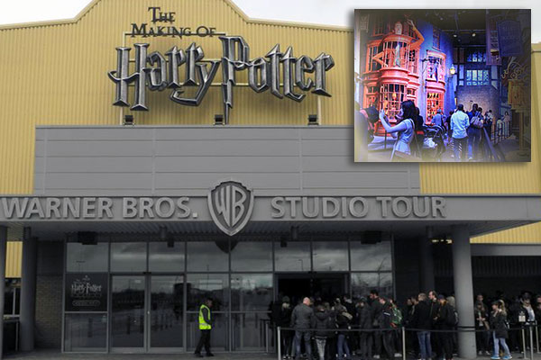 Visitar en Londres el tour de Harry Potter en Warner Bros. Studio