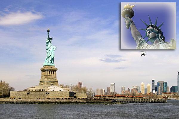 Visitar la Estatua de la Libertad en Nueva York en Estados Unidos