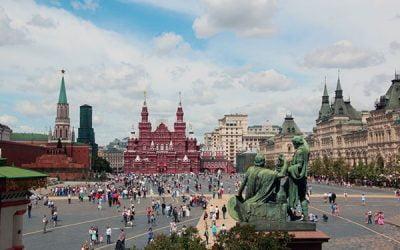 Visitar la Plaza Roja de Moscú en Rusia
