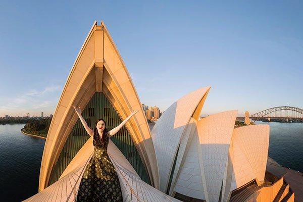 Visitar la Ópera de Sídney en Australia