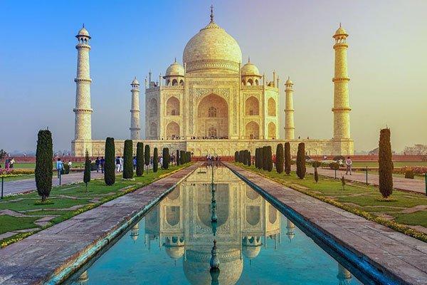Visitar el Taj Mahal en Agra, India