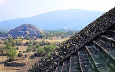 Visitar el yacimiento arqueológico de Teotihuacán en México