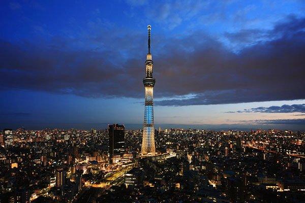 Visitar la torre Tokyo Skytree en Japón