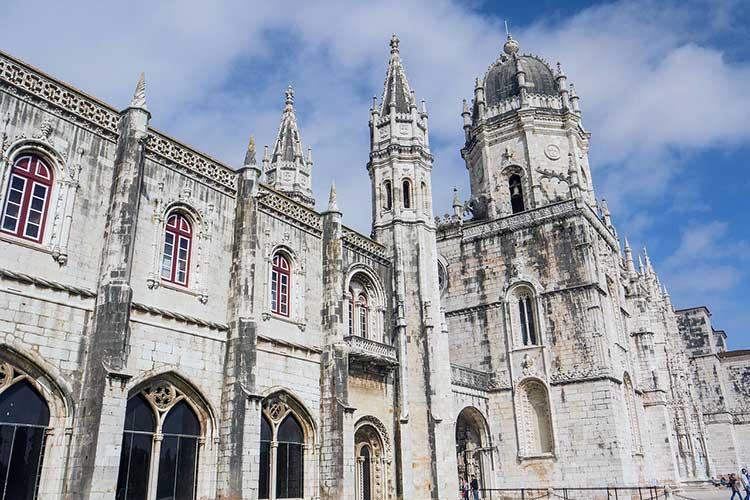 Monasterio Jerónimos en Belem