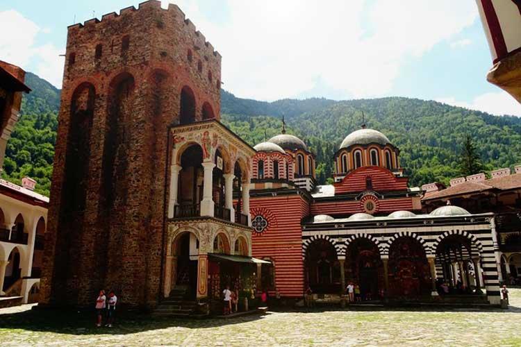 Monasterio Rila en Bulgaria