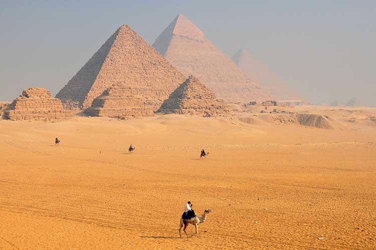 Pirámide de Keops en Egipto