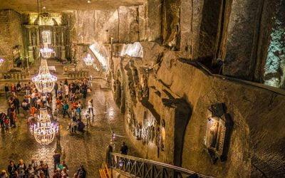 ☆ Visitar las minas de Wieliczka en Polonia
